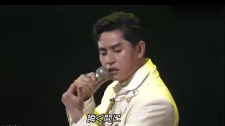1989年谭咏麟登上日本红白歌会唱粤语金曲,实力征服全场