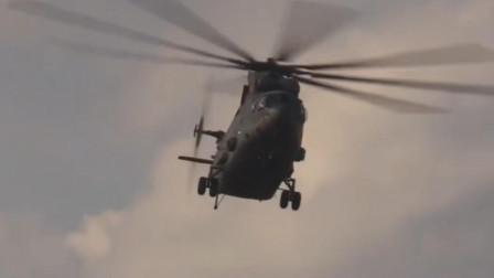 米26运输直升机最大起飞质量56吨,世界上最大的直升机