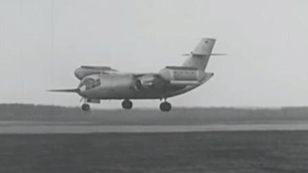 德国DO-31E垂直起降运输机世界上最大的可垂直起降飞机