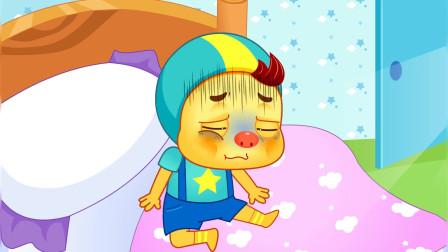 搞笑的艾伦:艾伦是好孩子(下)经典亲宝动画搞笑的艾伦 艾伦变为一个好孩子