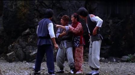 79年老武侠片,老酒仙身受重伤,徒弟蝙蝠洞取药不料恶霸紧跟进山