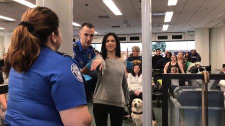 外国女人过安检时,为什么安检员很尴尬?屏幕上究竟能看到什么?