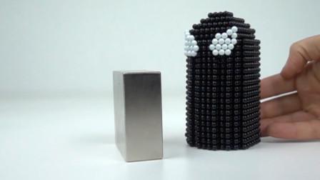 当毒液遇见了磁铁,会发生怎样的化学反应呢,画面太美