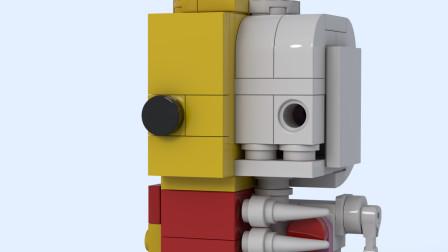 你知道乐高小人的身体构造吗?3d动画解剖拼搭一次让你看明白