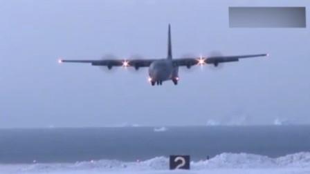 俄罗斯的CC-130J大力神运输机,看着都感觉冷!