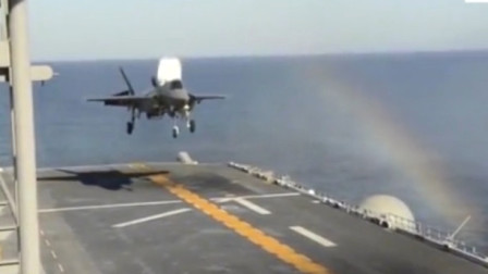 美军的战斗机起飞不需要跑道,发动机有多厉害!