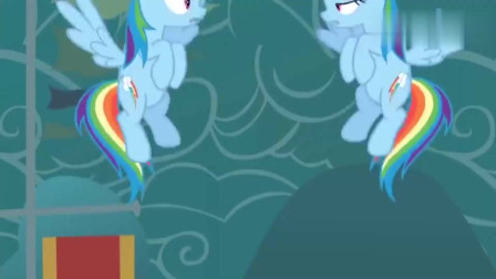 小马宝莉:紫悦的魔法太厉害了,竟然变出了两个一模一样的小马