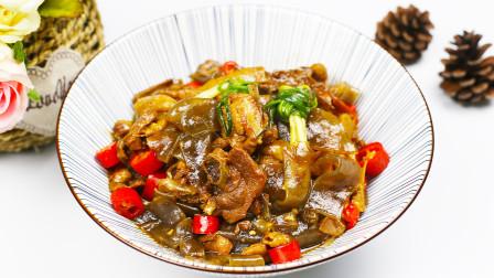 土鸡以后就这样炖,加一点粉皮,放锅里一放,出锅连汤汁都不剩!