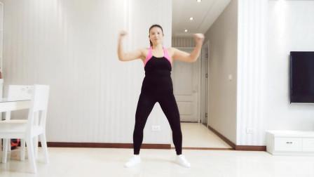 超长20分钟扭腰收腹爆汗健身操,这才是真正的动感