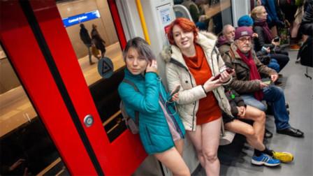 荷兰女性到底有多开放?到地铁转一圈,把持不住了!