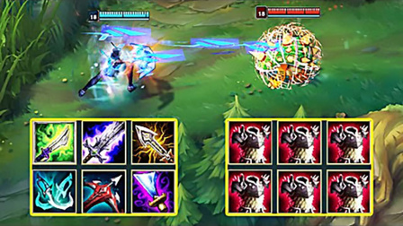 LOL:神装艾希vs反甲龙龟,哪个英雄更强?