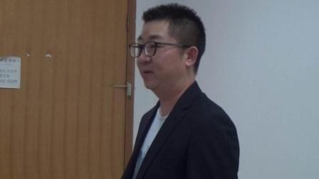 龙晖鞋业生产技术经理梁岳平在集团公司经营管理培训会上谈感想