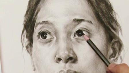 美术高考集训-杭州将军画室辽宁联考素描考题示范
