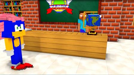 我的世界:课堂上的小精灵之户外游戏