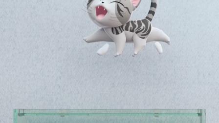 《甜甜私房猫》哇,这条金鱼好凶呀