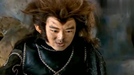 封神英雄榜:狼妖想要吃了小孩,哪料小孩不是一般人,放出雷电制裁狼妖