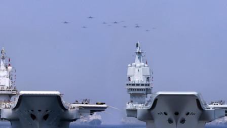 双航母战斗力堪称恐怖!美海军一周打击7000目标,中国何时具备?