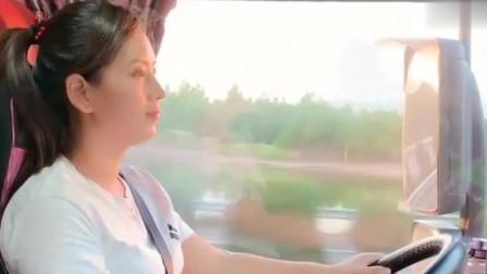 这是我见过最美的卡车女司机,开车技术精湛,谁娶回家谁幸福