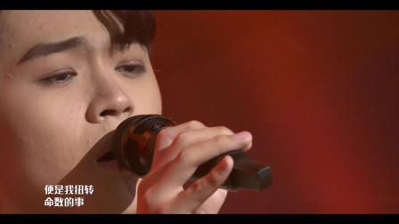 小哥哥演唱《小城大事》,杨千嬅经典歌曲,好听