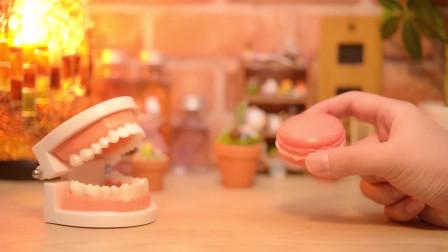 创意停止烹饪,制作不一样的蛋糕,好玩的定格动画!