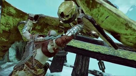 战神4 第九章 3 无聊的船上战斗,这期粉丝可以跳过不看,我是一个善良诚实的主播。
