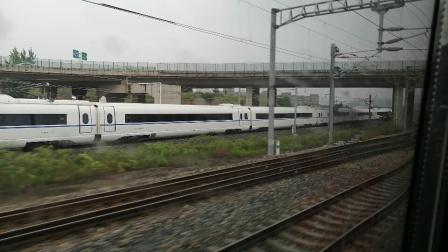 『西安北站 徐兰高铁』D2685次(西安北~西宁)西安北站正点发车,右侧D1917次同向发车