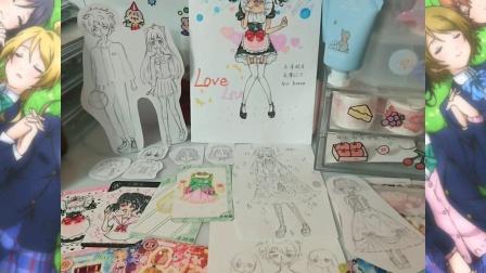 【星宫清璃】(漓落) 偶像活动lovelive自制食玩周边