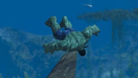 GTA5: 绿巨人在水下发现了什么?