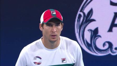 2020 ATP网球世界杯 决赛 塞尔维亚VS西班牙 这是世界排名30开外的水准?拉约维奇奶牛式单反戏耍阿古特
