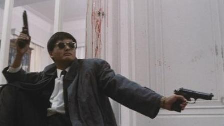 【盘点】周润发四大经典名场面,手持双枪自带躲子弹功能,贼帅