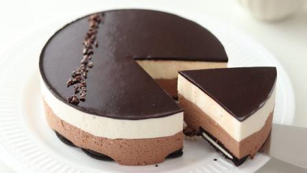 【中字】【HidaMari】免烤巧克力芝士蛋糕