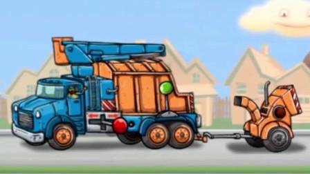 认识工程车木材削片车