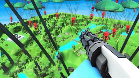 古代战争模拟器!空投加特林RPG摧毁敌军堡垒!