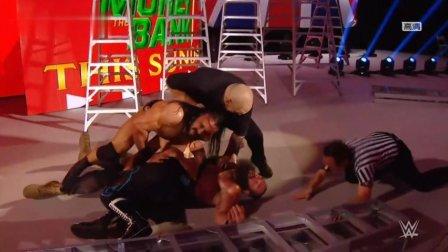wwe凯莉 WWE捡了个大便宜 人间怪兽斯图曼惨遭三人合围 萨米辛侥幸获胜