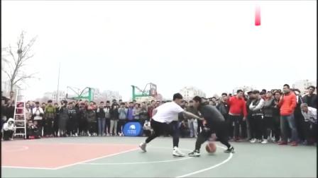 管你打球有多厉害,中国勾手投篮第一人,打到你没脾气!