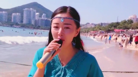女歌手翻唱刀郎一首《西海情歌》,歌词太伤感,一开口就听哭了