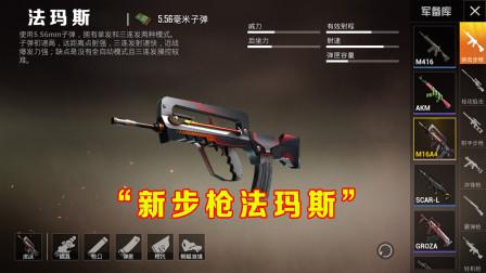 """和平精英:未更新""""新步枪""""意外泄露,M4枪王地位不保!"""