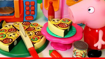 猪佩奇的生日派对 美味蛋糕糖果和礼物玩具
