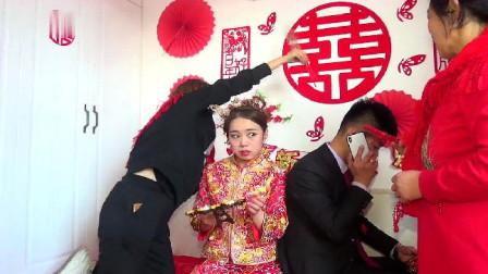 河北一19岁姑娘,年纪轻轻就嫁富二代,新郎生意太忙,还在打电话