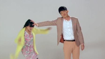 吕子乔和陈美嘉进行拳术表演,美嘉太可爱了!