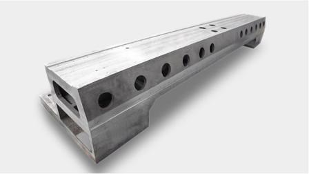 铸铝横梁有什么优势,和挤压铝型材横梁有什么区别?今天长见识了