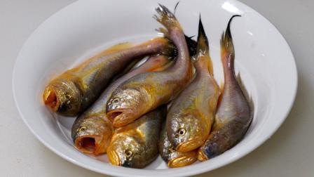 酱油水煮小梅鱼家常菜,做法简单吃起来原汁原味,传统的海鲜做法
