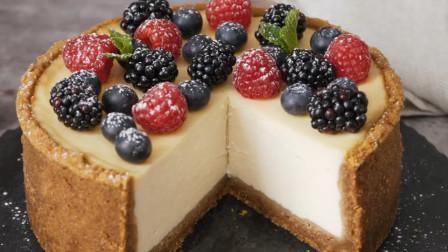 水果蛋糕这样做太香了,松软香甜,做法简单,健康安全又美味真甜