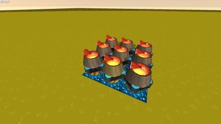 迷你世界 推进器无火悬浮烧烤,更安全更卫生