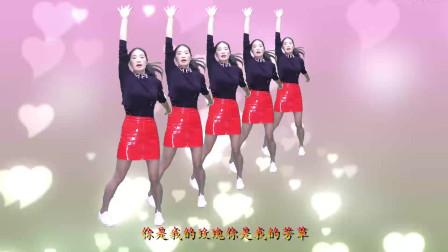 广场舞《你不来我不老 》曲调宛如天籁,美女舞蹈独具风韵,美美哒
