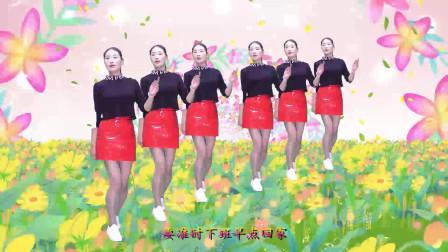 经典DJ《老大》广场舞,美女舞步矫健优美,舞姿美美哒