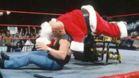 wwe2k18 WWE2K18 Stone Cold给了圣诞老人一个STUNNER 圣诞快乐 Brother