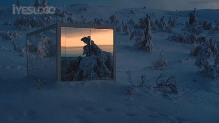 大众在雪山中藏了輛 車,找得到就是你的! Volkswagen - The No Show Room