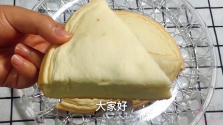 想吃蛋糕不用买烤箱教你做电饭锅蛋糕,做法简单早餐吃它