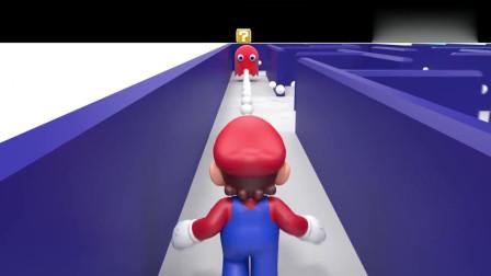 吃豆大作战:吃豆人VS马里奥VS索里克,精彩3D版动画
